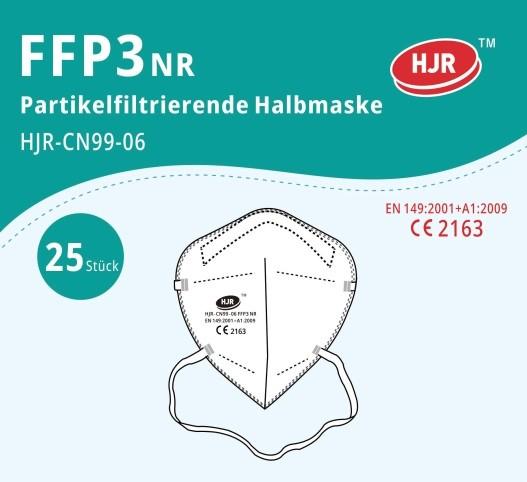 FFP3 Mundschutz Maske mit CE Zertifikat
