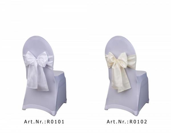 Stuhlschleifen aus Premium Taftstoff
