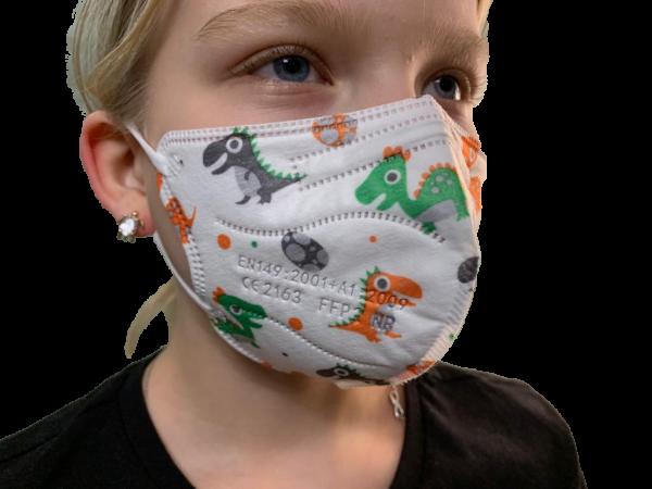 FFP2 Mundschutz Maske mit CE Zertifikat Größe S