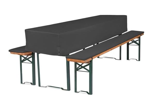 Bierbankauflagen für Bierzeltgarnitur 3TLG Set mit Tischhusse | RV zum selber beziehen ↨ 2,2cm