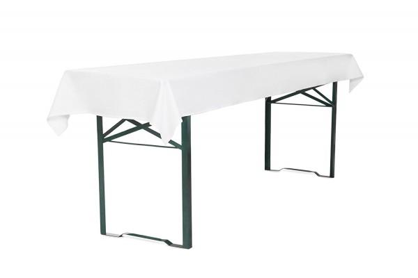 Tischdecke für Bierzeltgarnitur 250 x 100 cm
