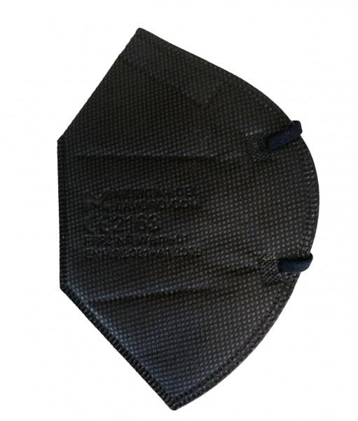 FFP2 Schwarz Mundschutz Maske mit CE Zertifikat