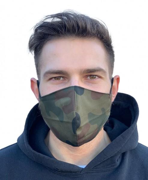 Mund-Nasen-Maske Modell Smart Tarnfarbe
