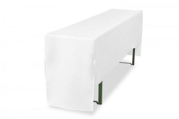 Biertischhusse Premium Pro 3/4 für Bierzelttisch (nur Tisch) 220 cm