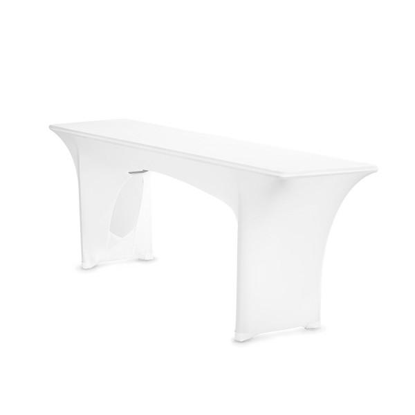 Biertischhusse Stretch AMBER 220cm nur Tisch