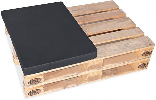 Halbes Palettenkissen für Palettensofa Europaletten 1/2 (60x80cm) gepolstert In- & Outdoor