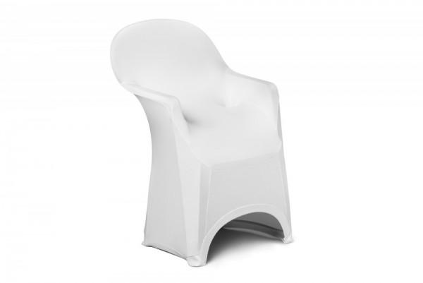 Stretch Stuhlhussen mit Armlehne Modell: BRÜSSEL