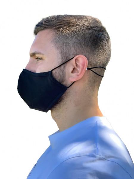 HiTech Community-Maske mit Zinkionen Technologie - anpassbaren Nasenbügel atmungsaktiv 3-lagig