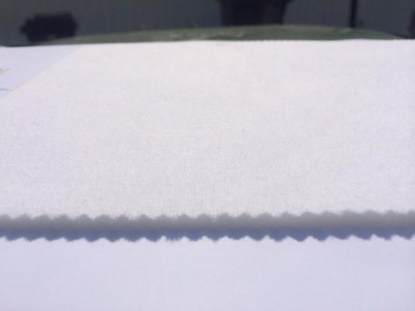 Tischmolton Meterware wasserdicht mit 3 mm PU-Schaum Breite:135cm