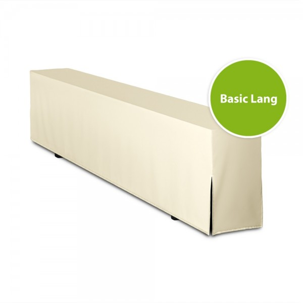 Bierbankhusse BASIC LANG (nur Bank) 220cm
