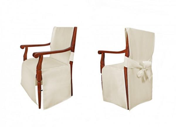 Stuhlhussen für Stühle mit Armlehne Modell: MONACO