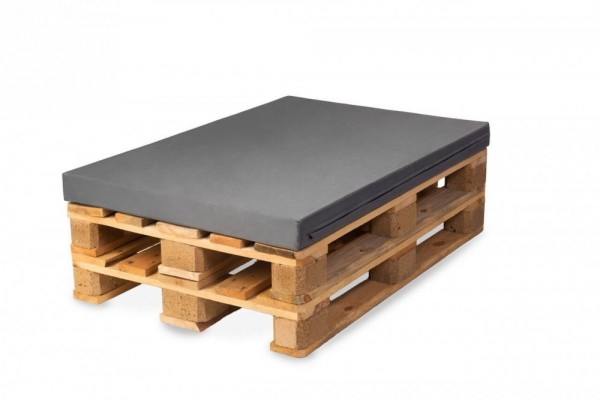 BEZUG (ohne Füllung) für Palettenpolster, Palettenkissen 120x80cm In & Outdoor